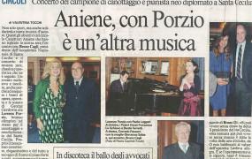 Il Messaggero Domenica 9 Ottobre 2011